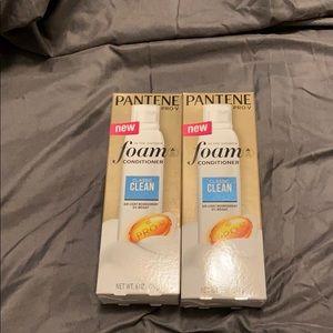 Pantene pro-v foam conditioner